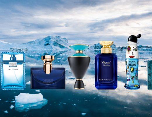 fragrances on ice