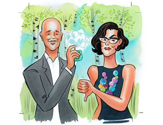 Dave Lackie and Nathalie Atkinson Sniff Test fragrance review