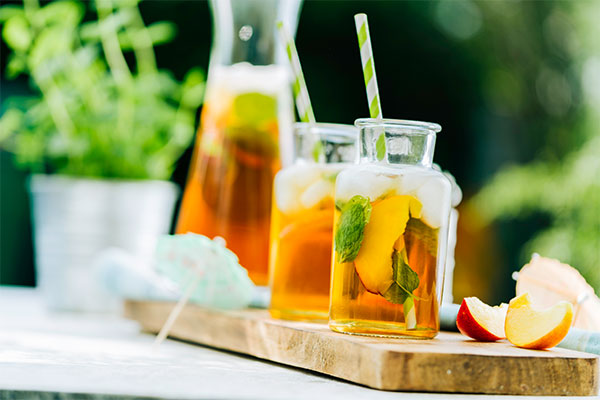 olde-fashioned iced tea