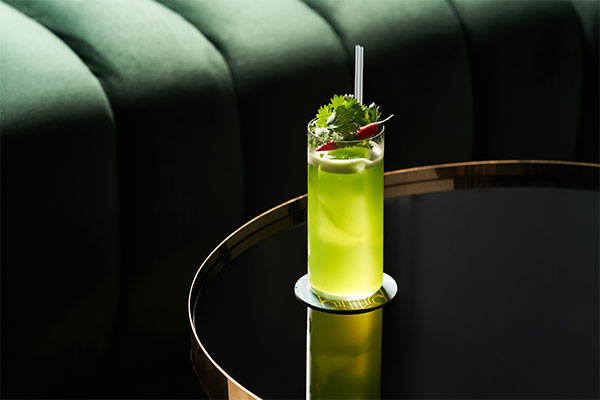 lime and honey cocktail