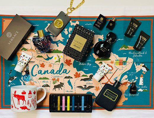 Salute To Canada Fragrance Giveaway