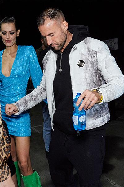 Fashion designer Philipp Plein