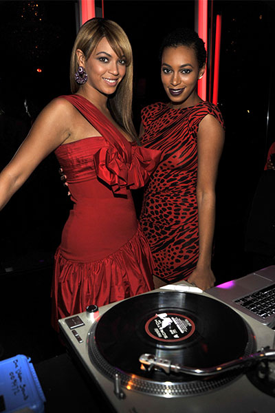 Beyoncé & her sister Solange