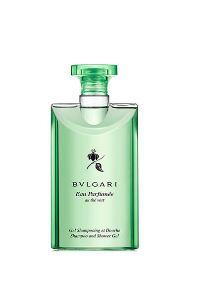 Bvlgari's soothing Eau Parfumeé Au Thé Vert Perfumed Bath Gel