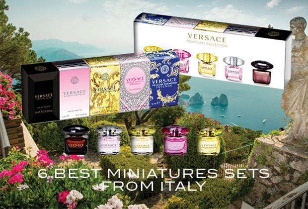 6 best fragrance miniatures sets from Italy