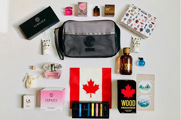 Canadian Holiday Wishes Designer Fragrance Giveaway