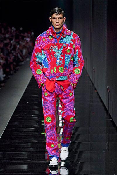 Versace Men's fashion look