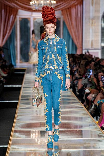 Moschino fashion look