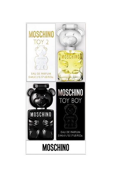 Moschino Toy 2 & Toy Boy deluxe fragrance miniature duo