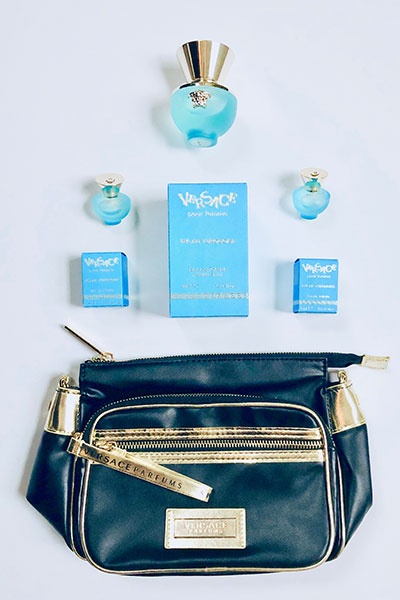 Versace pour femme Dylan Turquoise fragrance giveaway