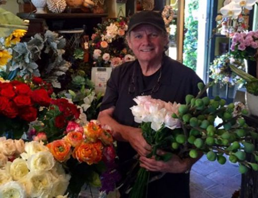 Award-winning florist Michael Merritt