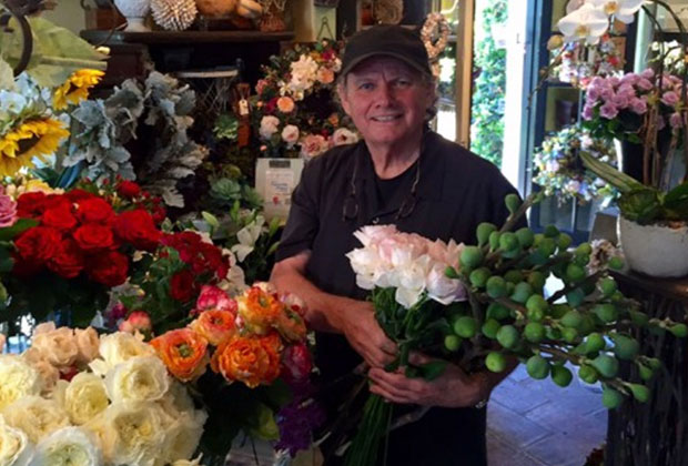 Award-winning florist Michael Merritt