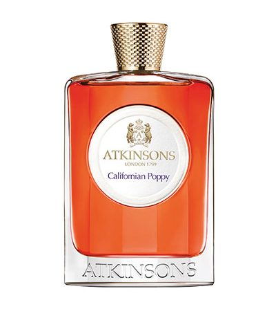 Atkinsons California Poppy contains pink pepper notes