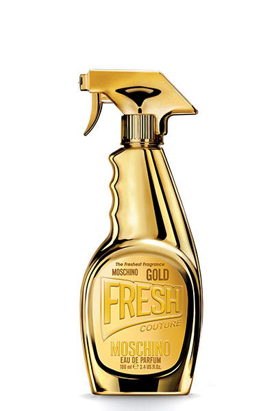 Moschino Fresh Couture Gold with mango notes