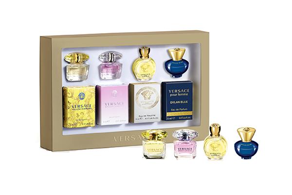 Versace Fragrance Miniatures for Her Set