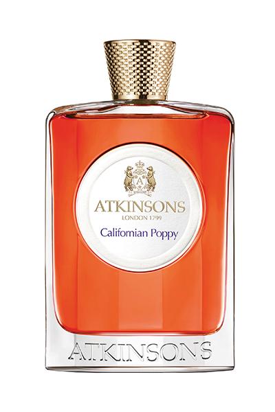 the new Atkinsons California Poppy fragrance