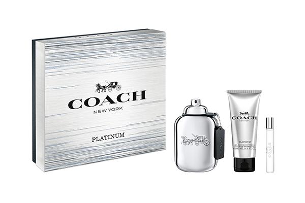 Coach Platinum fragrance gift set
