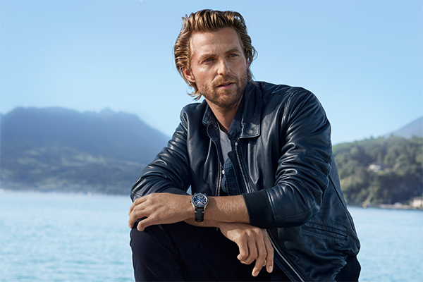 Rein Langeveld is the face of Ultra Blue