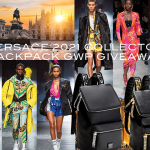 Versace summer 2021 collector backpack GWPs
