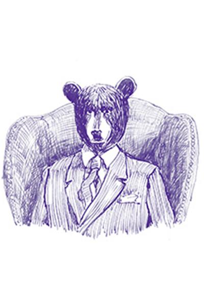 Atkinsons' bear sketch