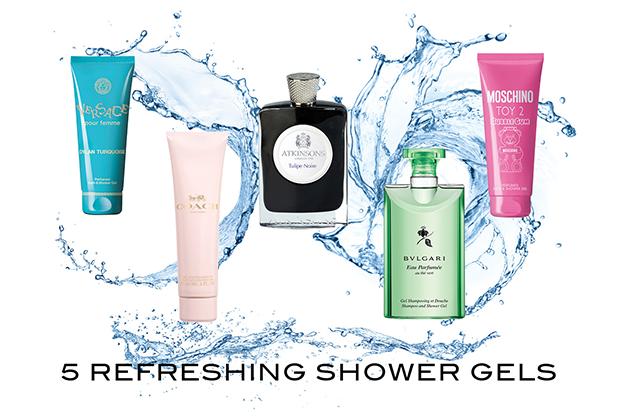 5 refreshing shower gels