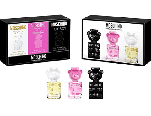Moschino Collector Toy Fragrance Miniature Set